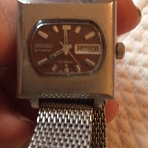 Vintage Seiko automatic hi beat watch